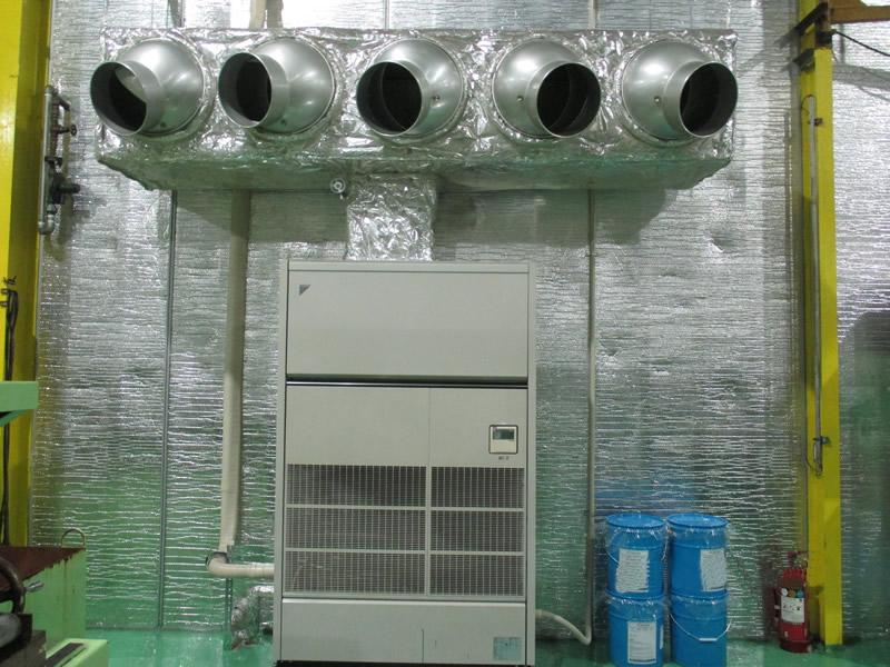 写真:冷暖房装置