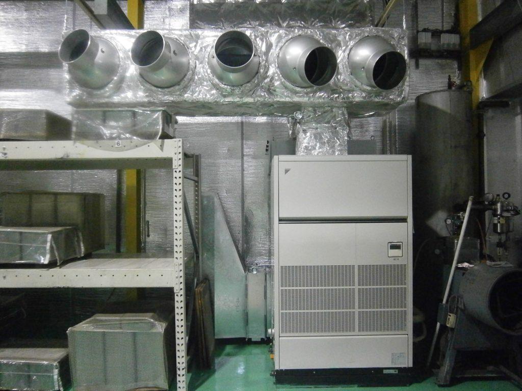 写真:冷暖房設置